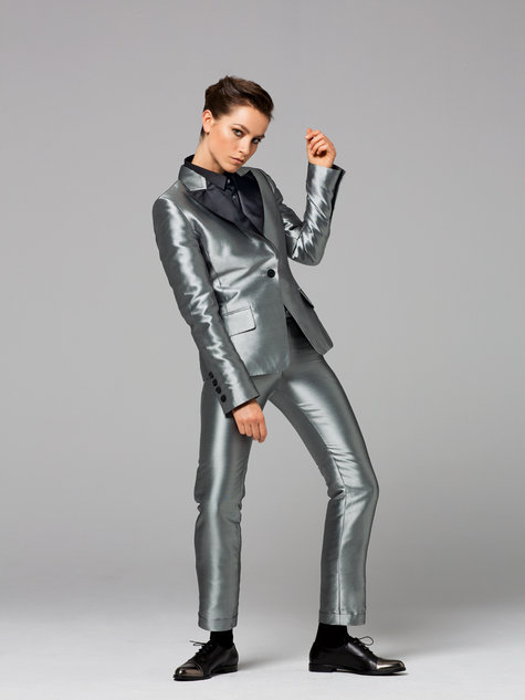 Burda Tailored trousers 11/2012 #107D: style and construction notes