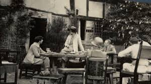 Contemporary photo of the Bloomsbury group