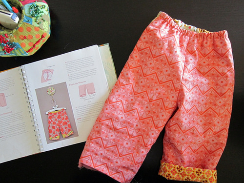 reversible toddler pants