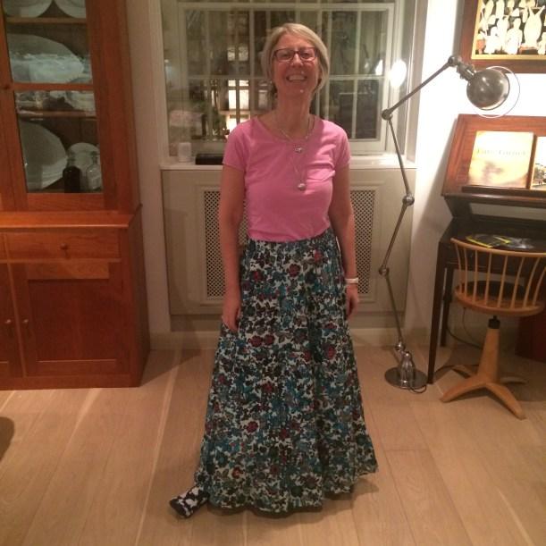 Charity shop long skirt