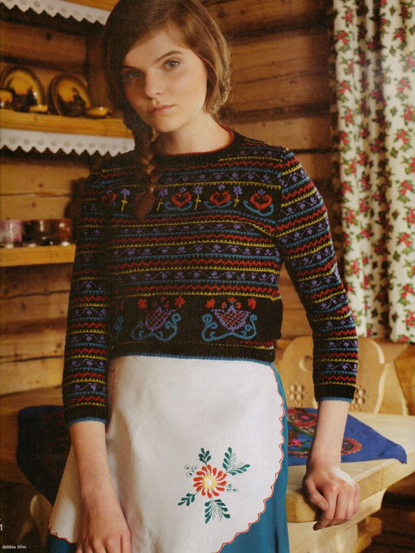 Debbie Bliss jumper