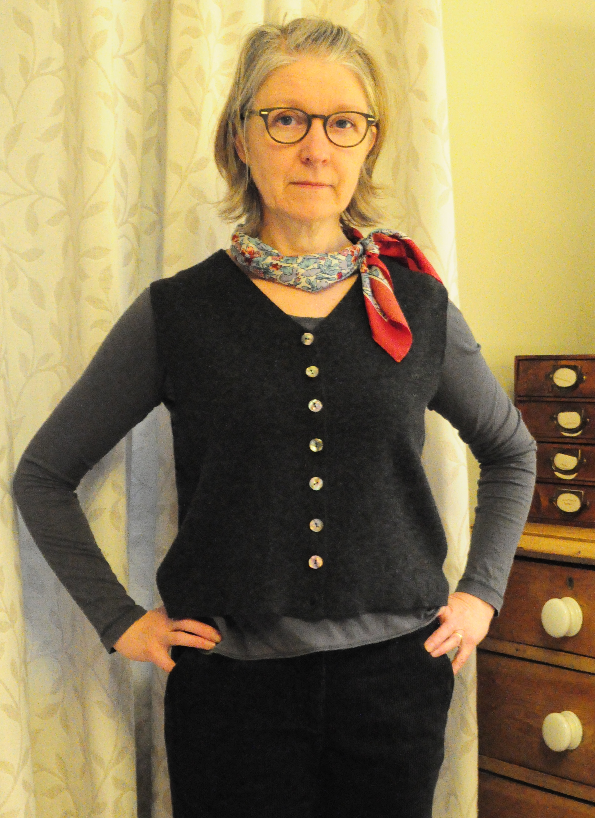 Refashioned waist coat