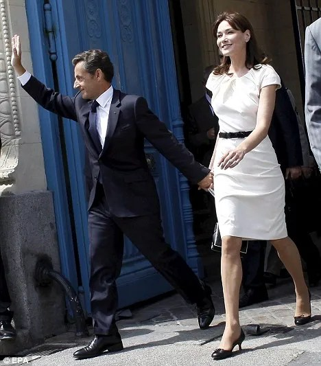 Sarkozy and Carla Bruni