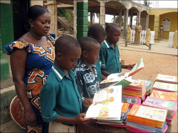 Ghana boys school