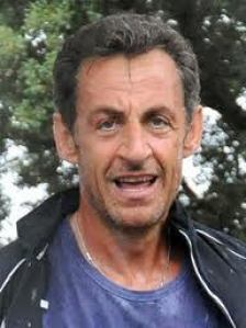 sarkozy after cylcing