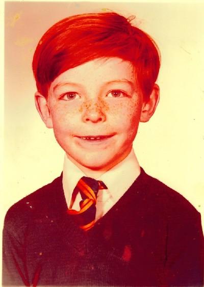 Jim Murphy MP aged 9