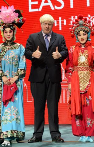 Boris in China