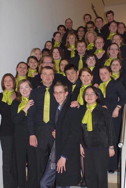 Deloittes choir