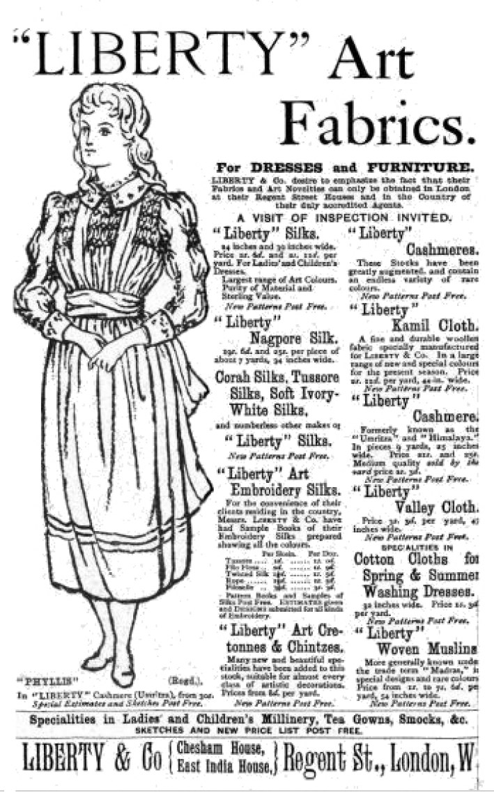 Liberty of London advert