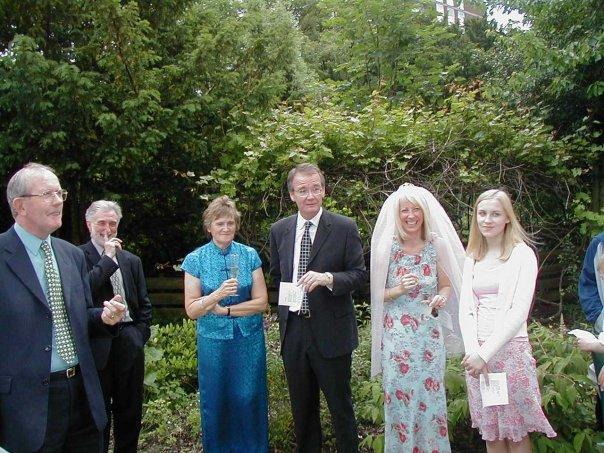 Kate and Nick's wedding