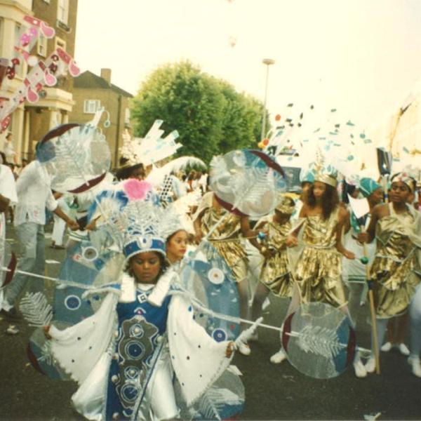 Charlene as Notting Hill Carnival Queen