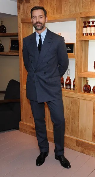 Patrick Grant in a double breasted suit