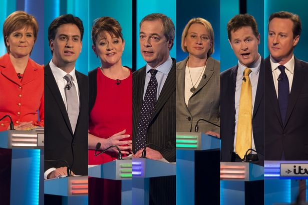 Election leaders debate UK