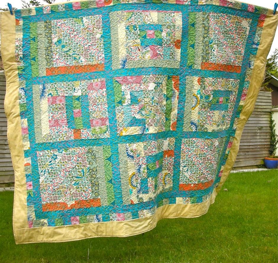 Ruth's amazing quilt