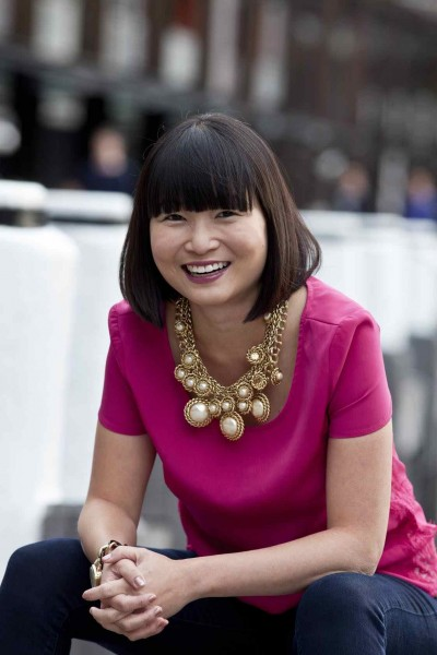 Wendy Mak in pink
