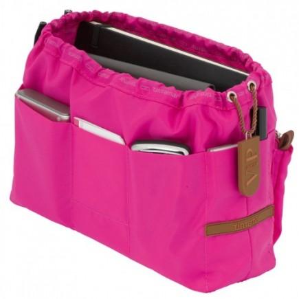 Pink handbag insert