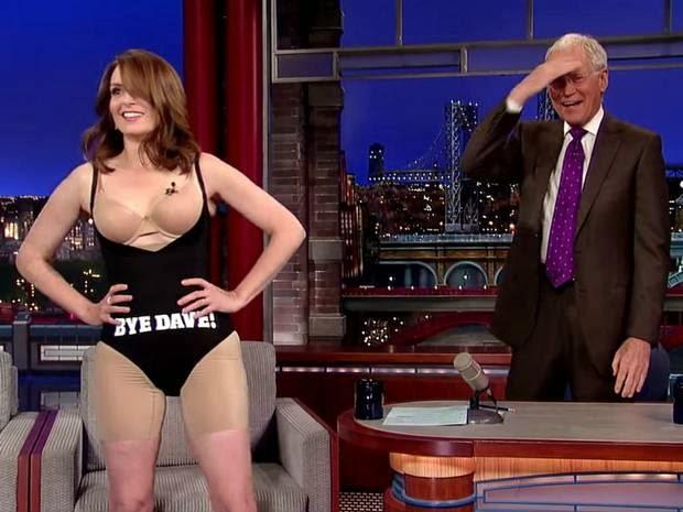 Tina Fey in modern control underwear