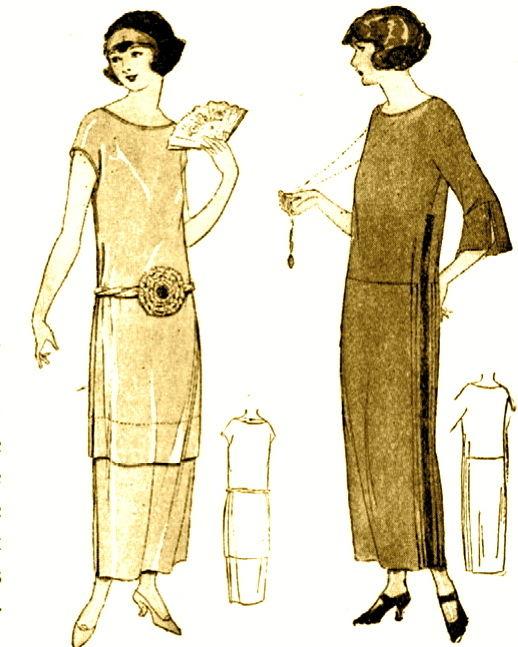 1920s dress pattern