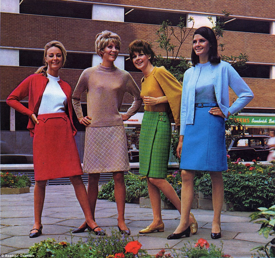 1967: Marks and Spencer Mini skirts