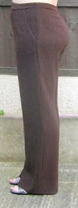 Hand made Burda trousers