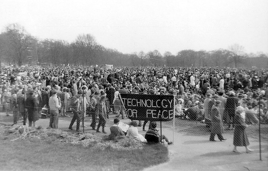 1962: Aldermaston march arrives Hyde Park