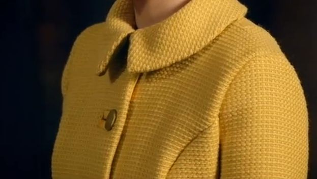 Tamara's lovely yellow coat