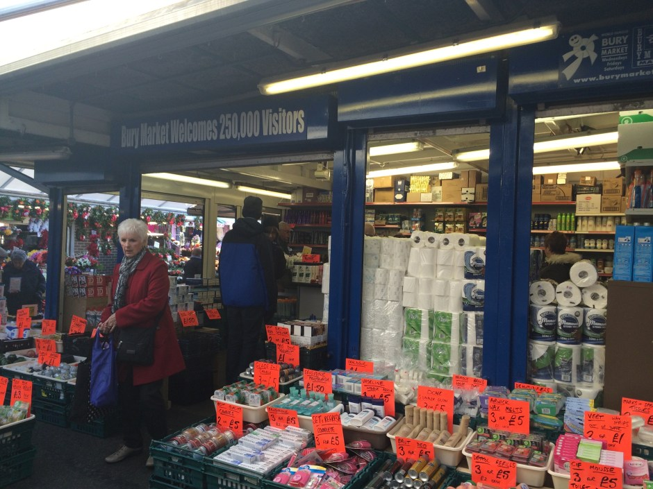 Bury Market, Lancashire