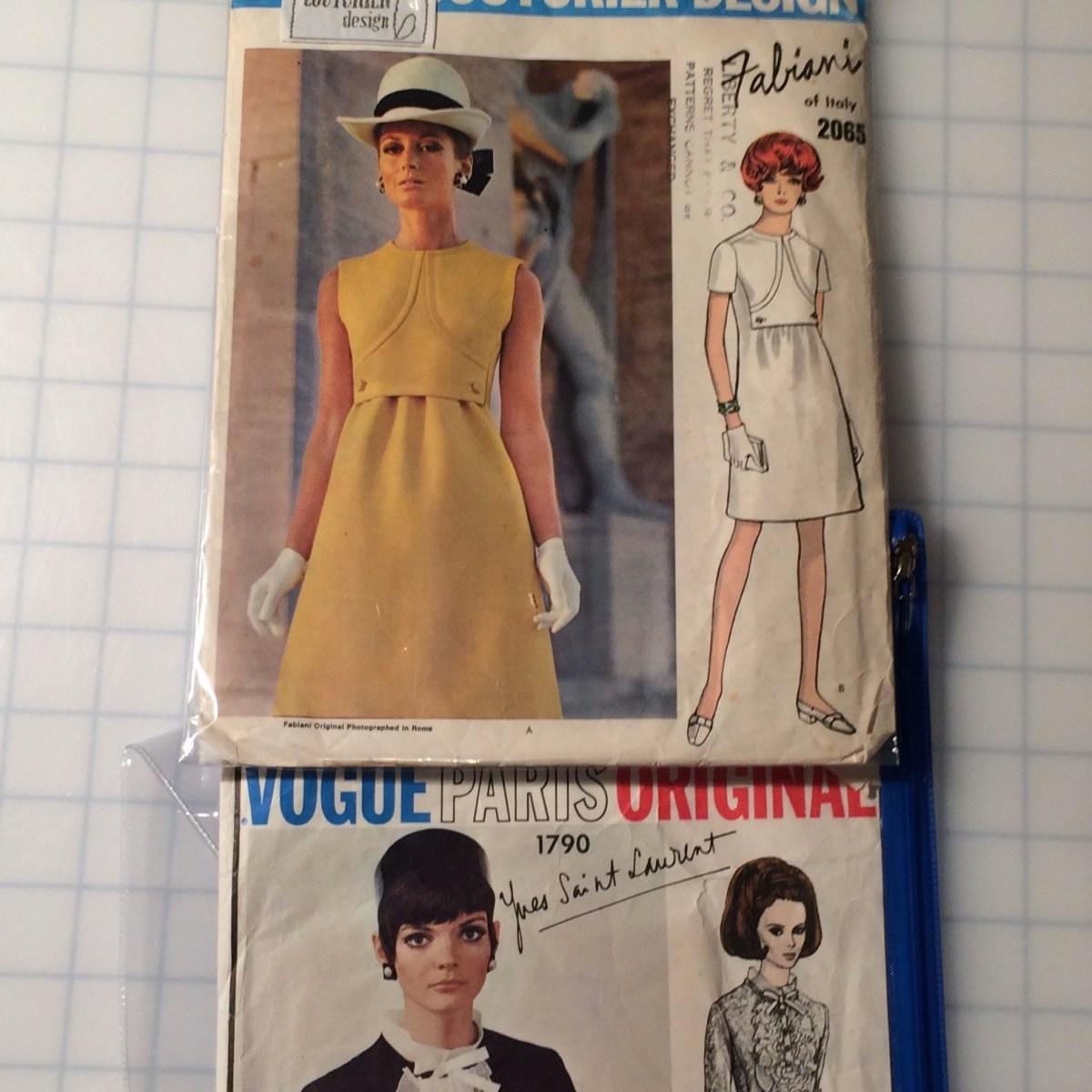 Vintage designer dresses