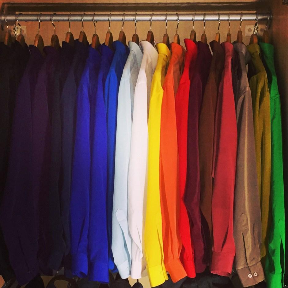 Rion Willard: Colourful wardrobe