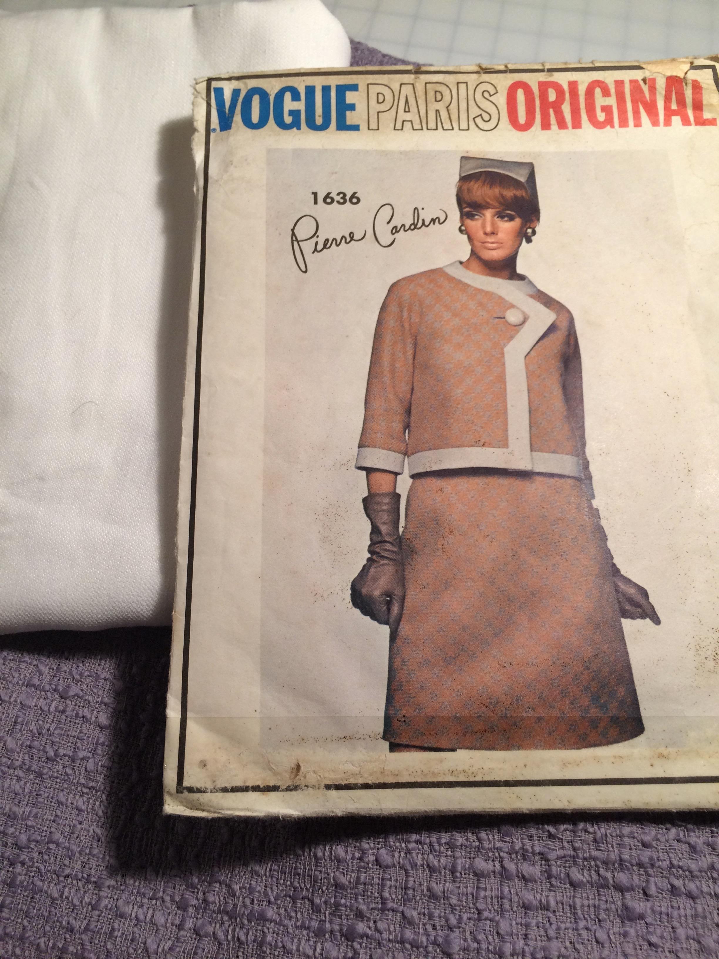 Vogue 1636 + mauve wool