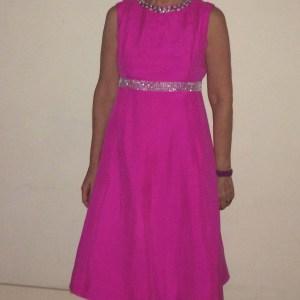 Vogue1897 YSL dress