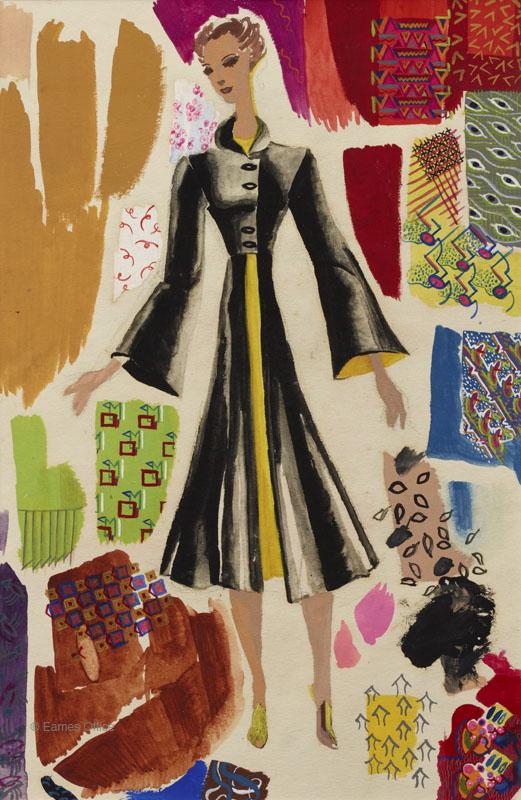 Dress designs Ray Eames