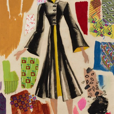 Dress designs Ray Eames