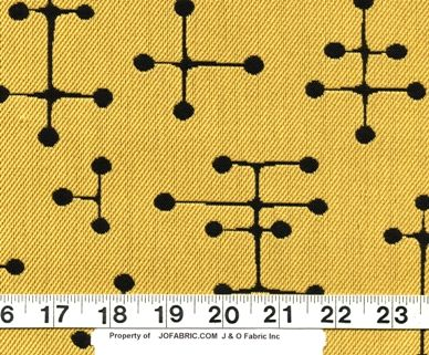 Textile design by Ray Eames
