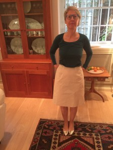 1960s skirt (front view)