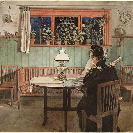 Larsson living room
