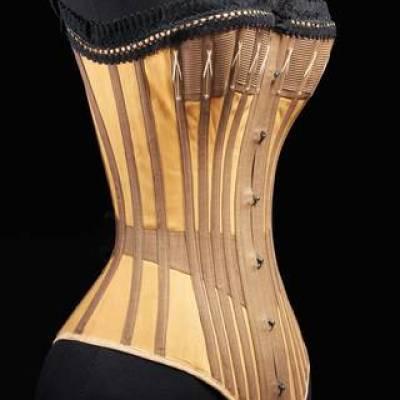 1890 Whalebone corset