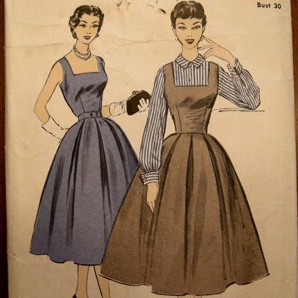 Full skirted dress: