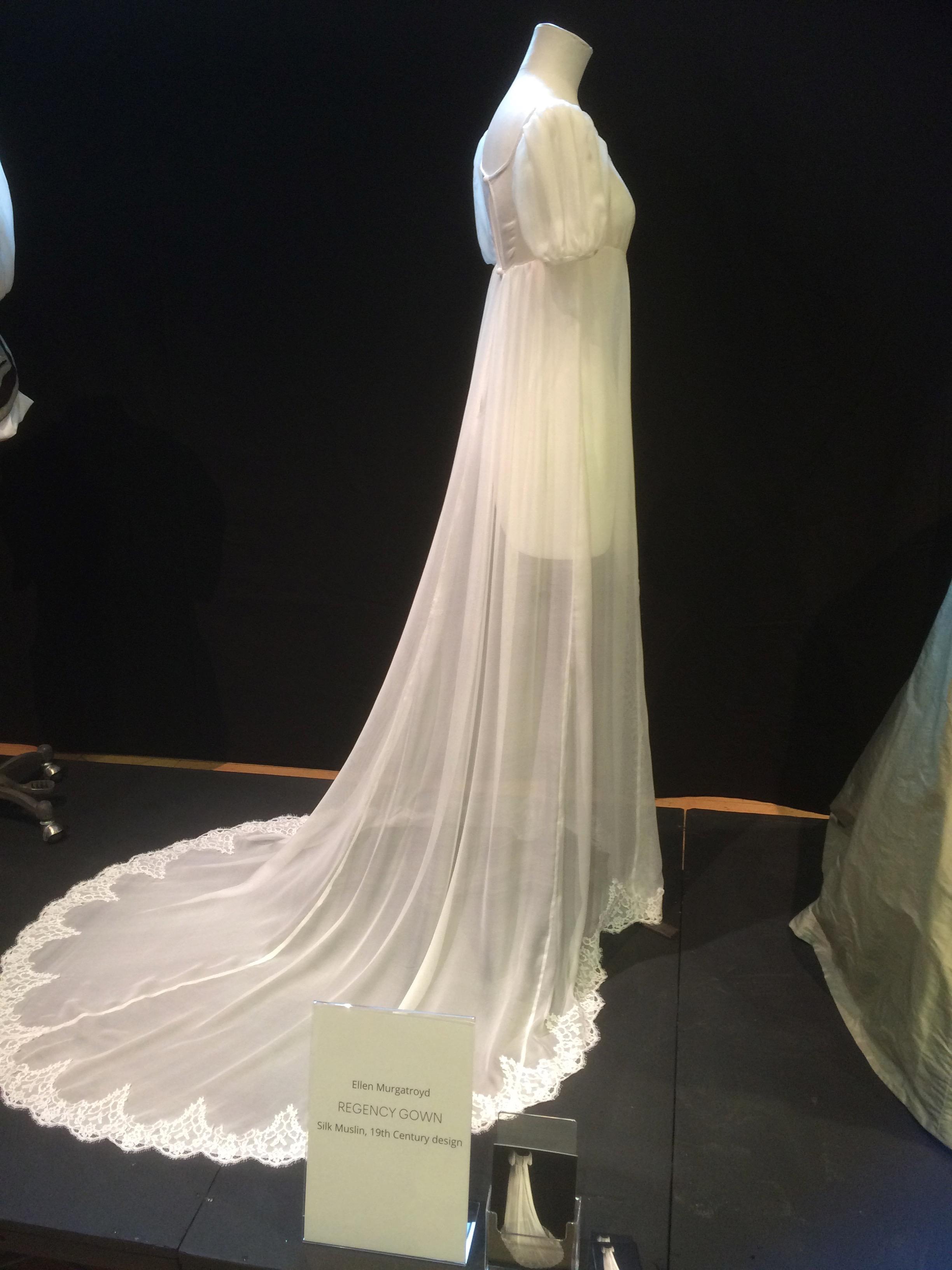Ellen Murgatroyd Empire line silk dress