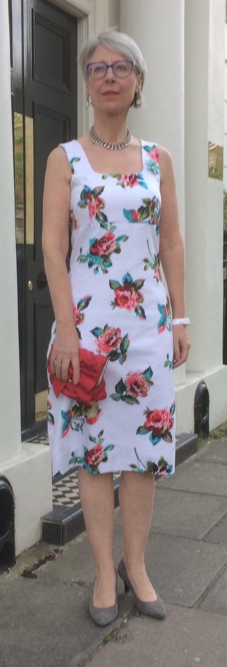 Karen Millen princess bodice floral  dress