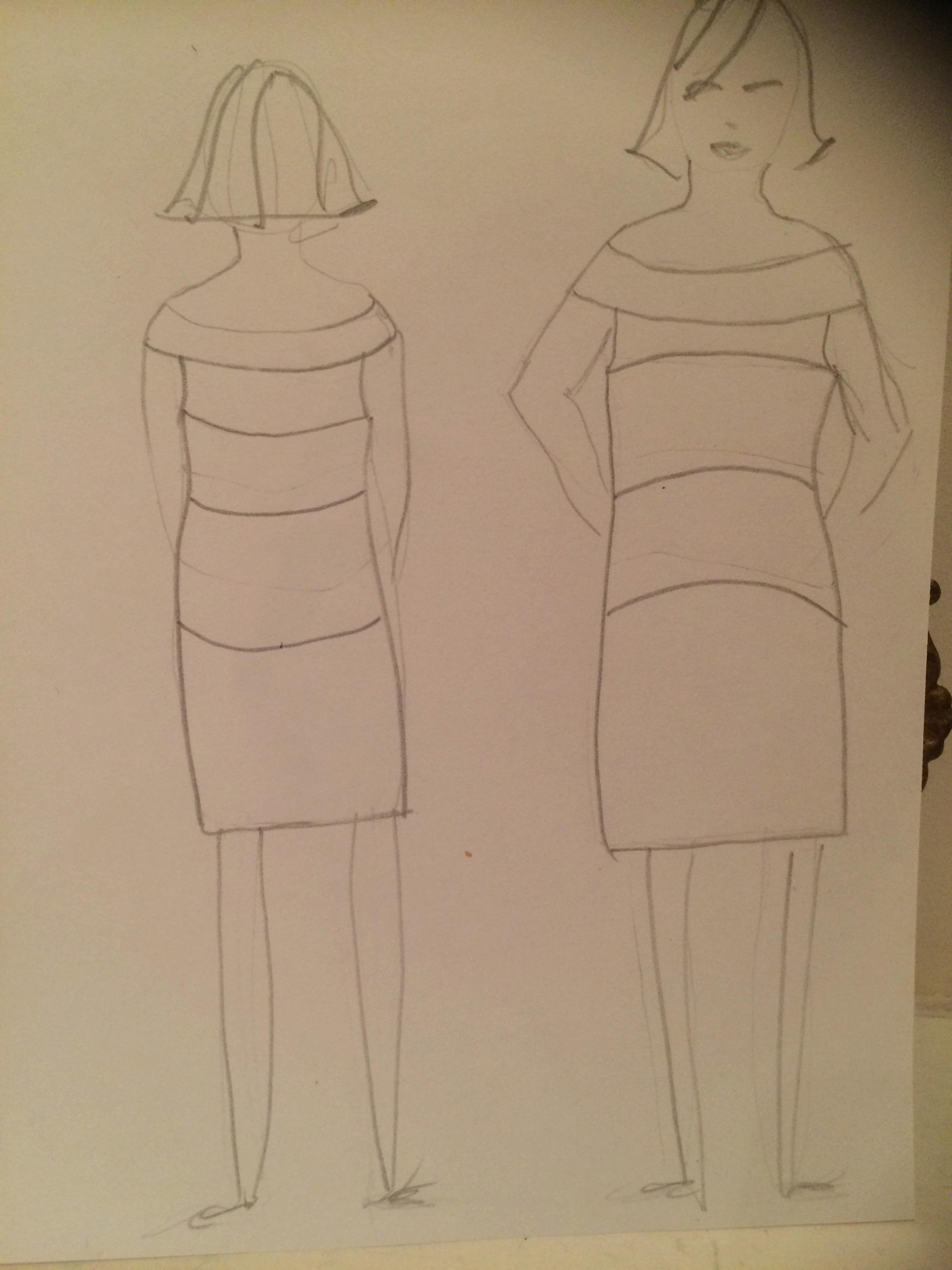 Hooped dress