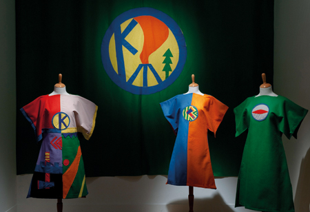 Reconstructed Kibbo Kift garments