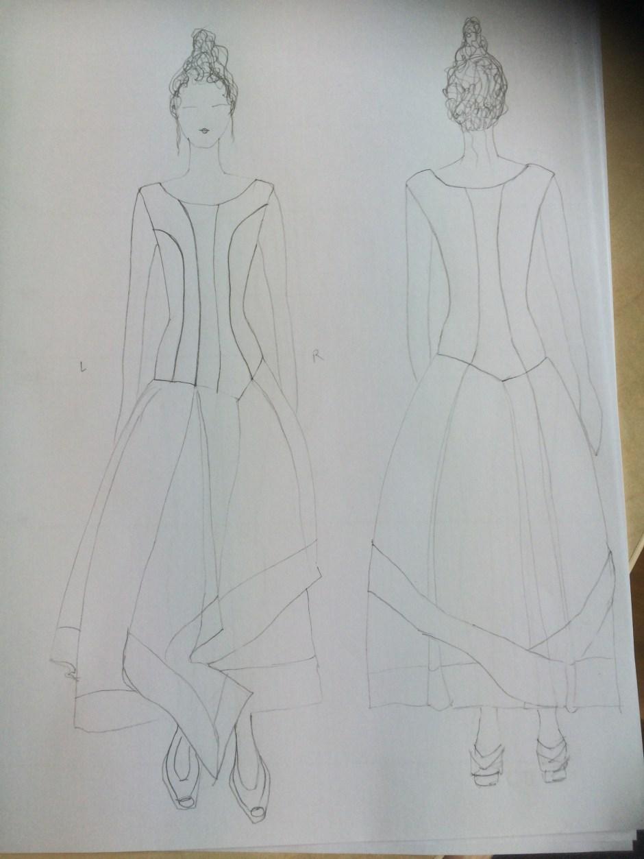 Napoleon Six dress challenge