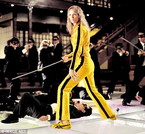 Kill Bill Yellow killing suit