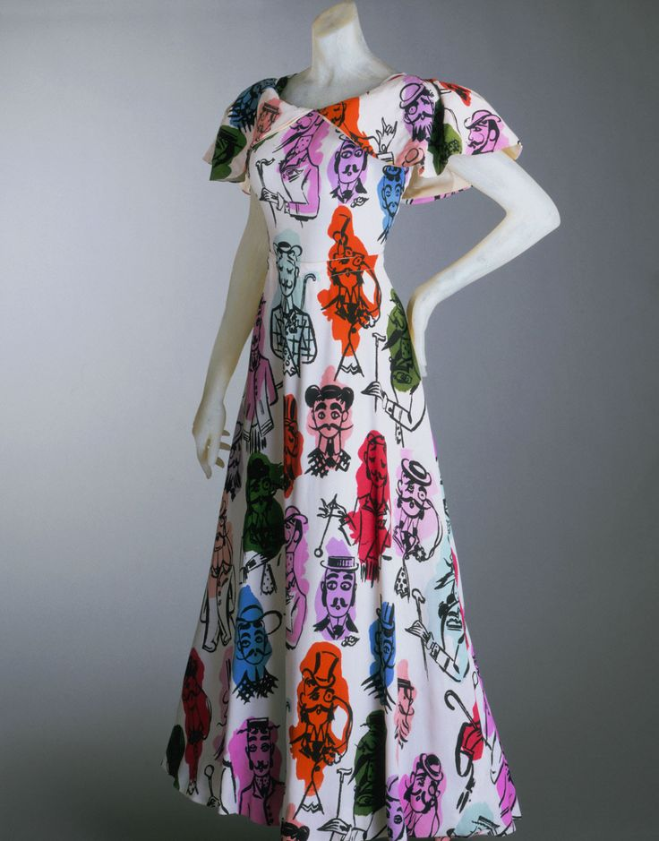 Schiaparelli Summer dress