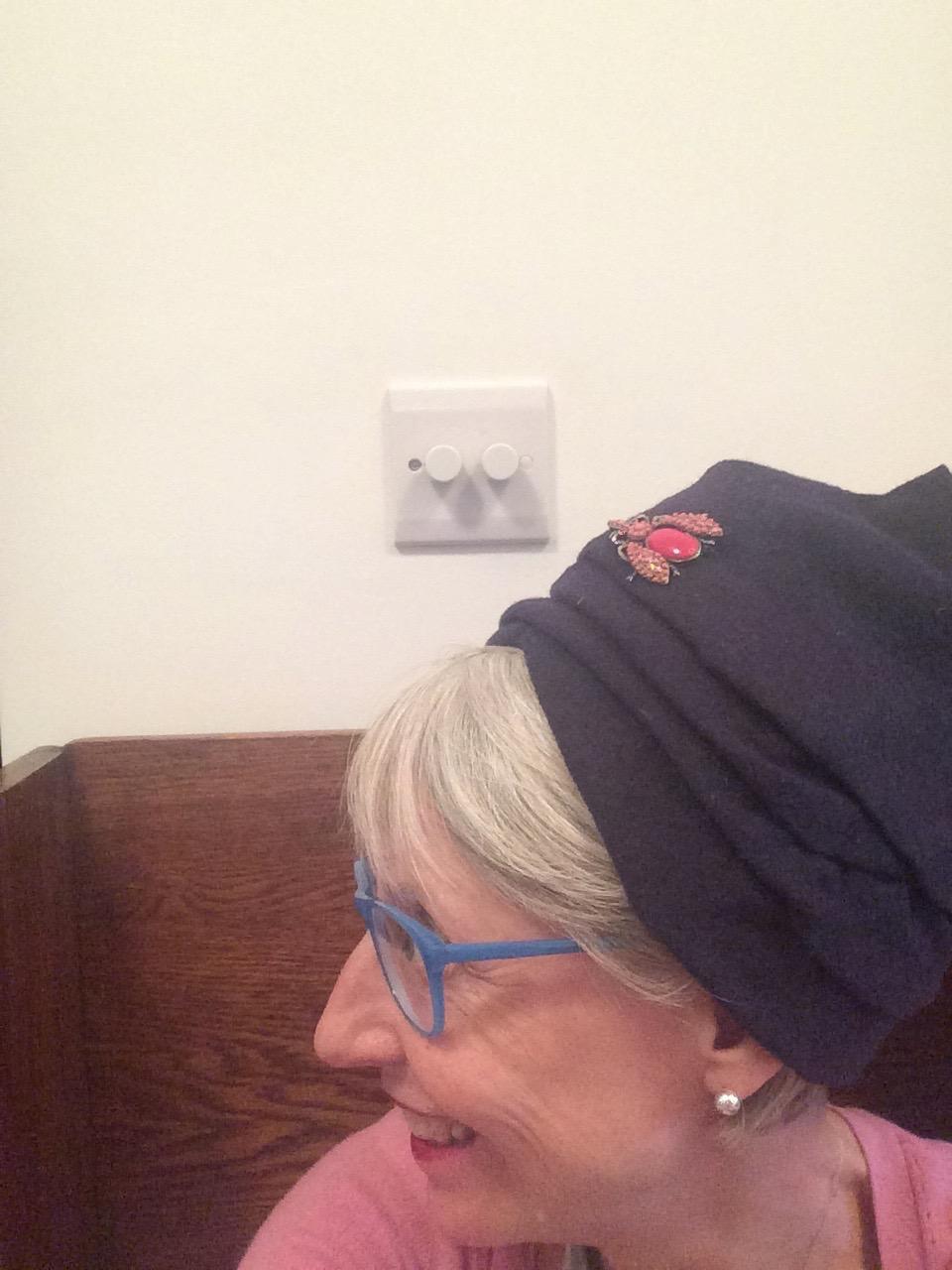Navy Bug hat