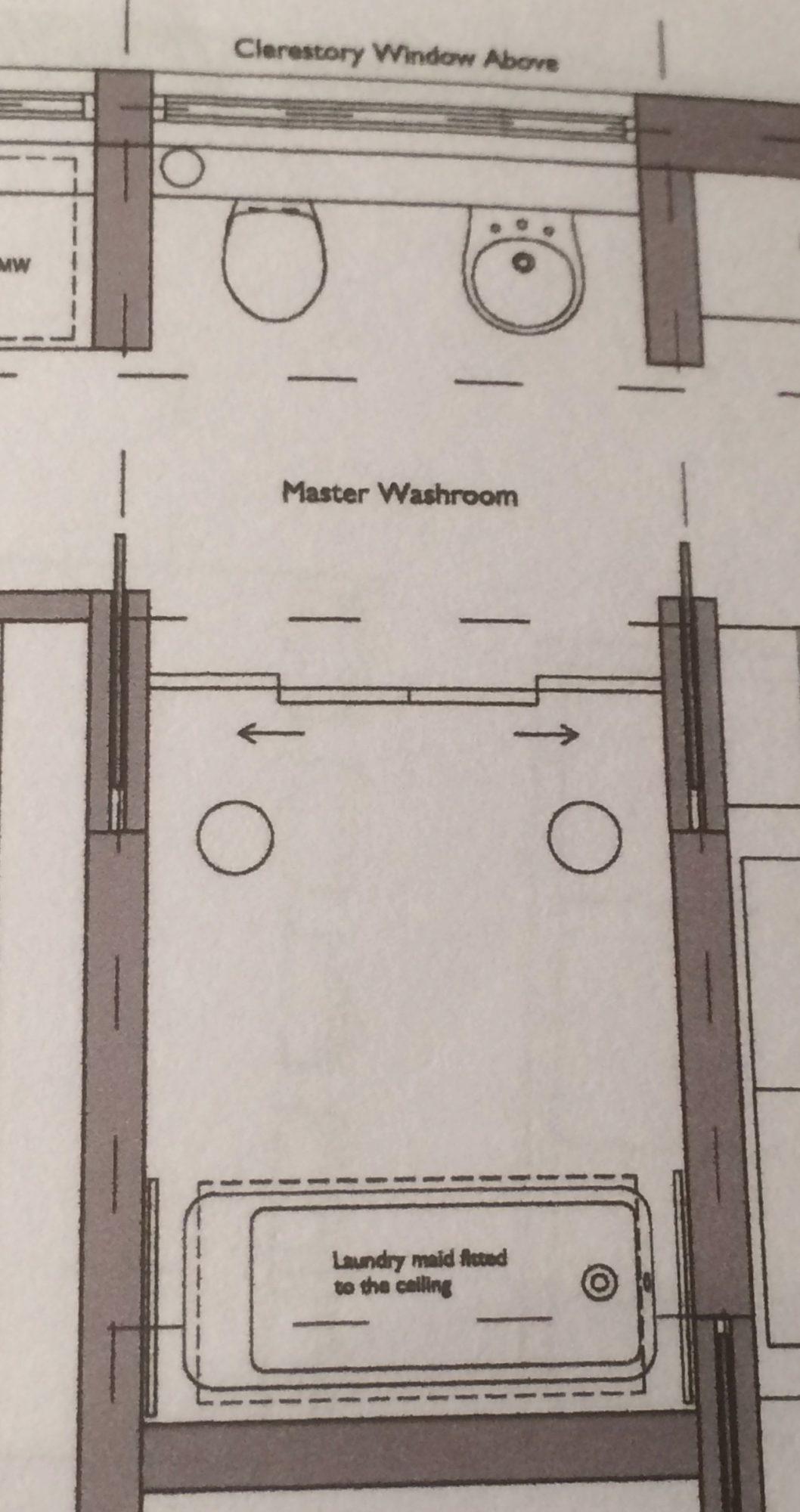 Rainshore Master Bathroom Plans