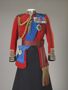 Ceremonial Grenadier Guards Commander in Chief