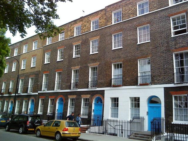 London's Georgian streetscap