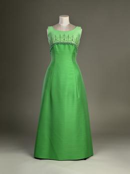 1968 Norman Hartnell dress